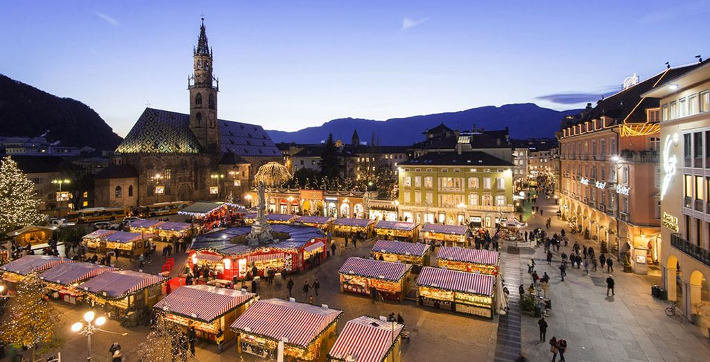 And don't miss the charming festive markets in December