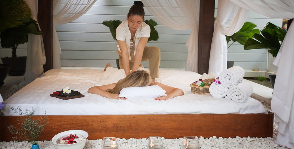 We've included a complimentary massage for a relaxing end to your adventure