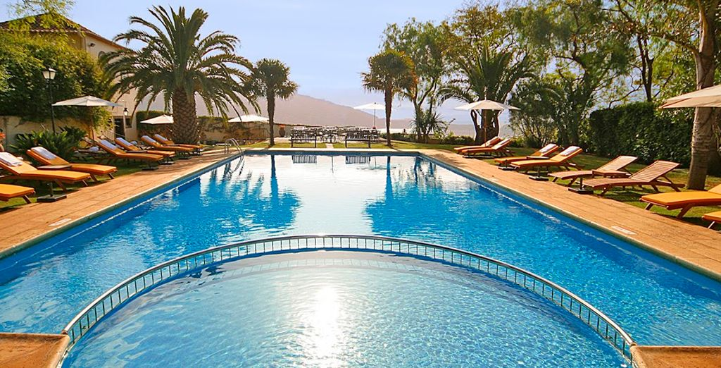 Soak up some sun by the sparkling pool