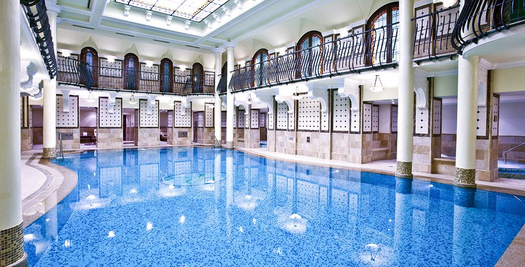 The pool is incredible
