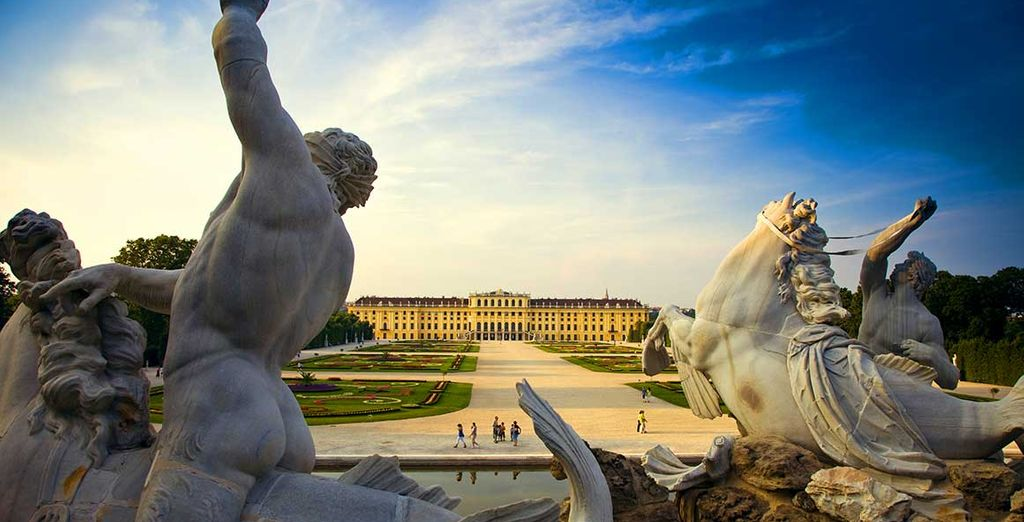 In Vienna - the grand capital city of Austria