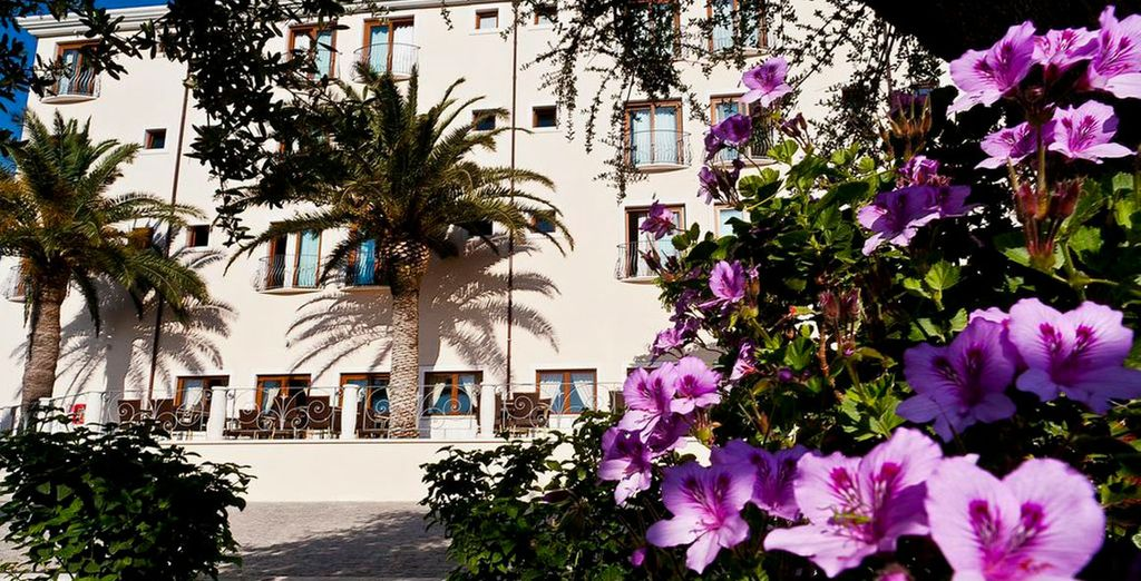Home to the charming Hotel Brancamaria 4*