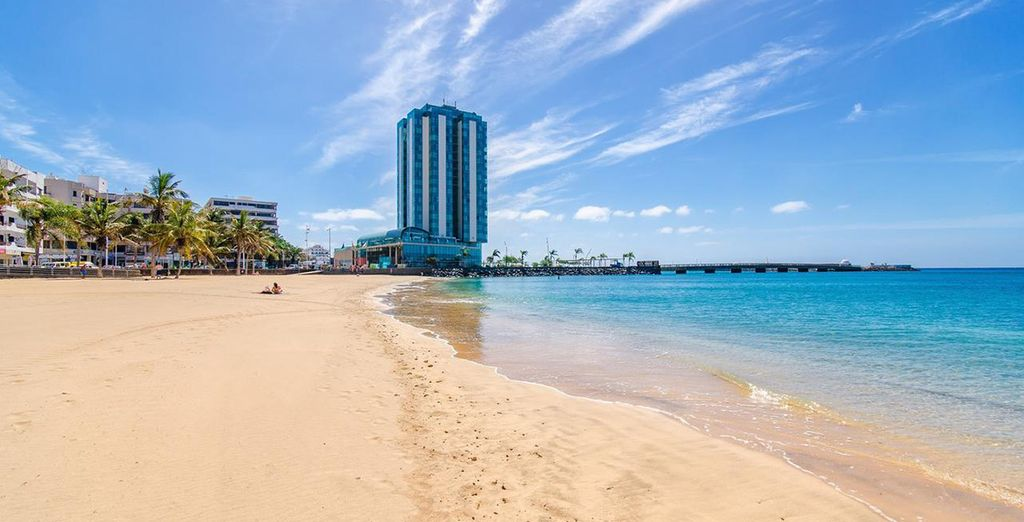 Soak up the sun from the island's tallest building... - Arrecife Gran Hotel & Spa 5* Arrecife