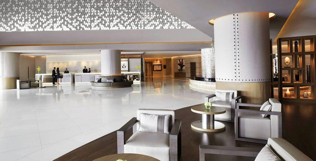 Welcome to the Fairmont Dubai