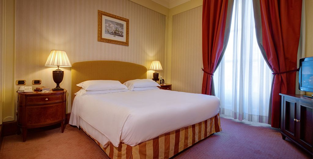 Our members can enjoy a free upgrade to a Superior room