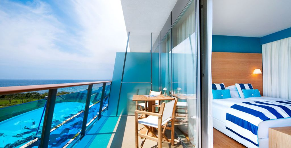 And enjoy amazing views from your room
