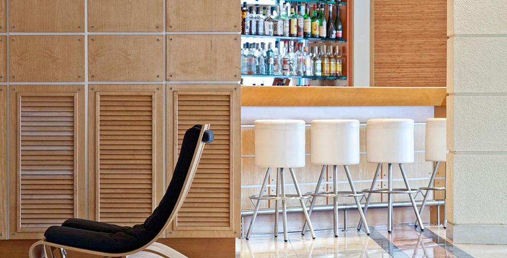 A modern, stylish boutique hotel