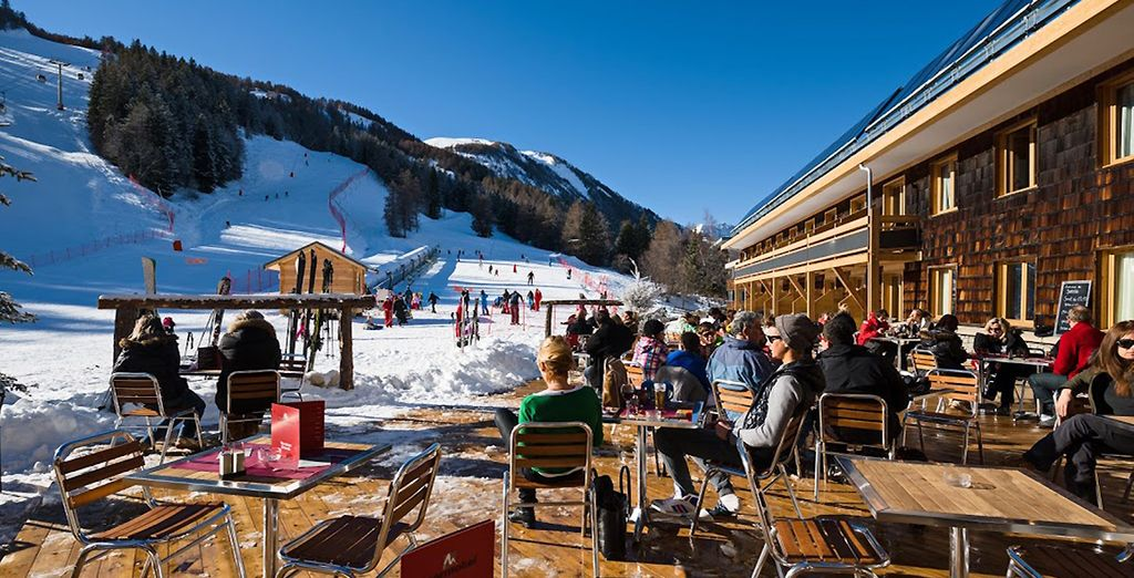 Long days on the slopes and long afternoons of après-ski await