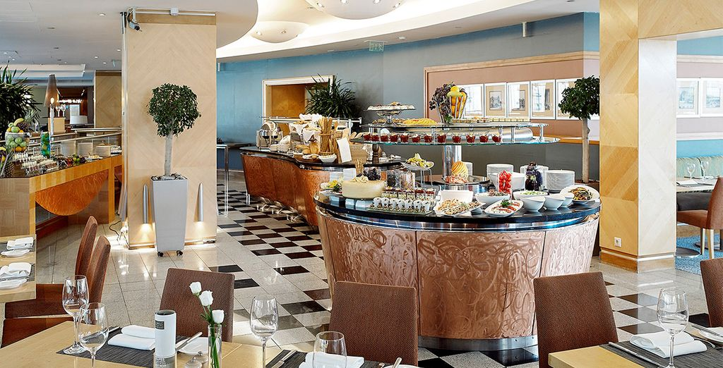 A delicious buffet breakfast is included