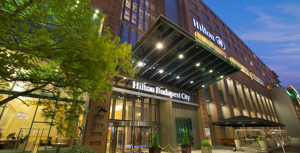 Book a stay at the Hilton Budapest City