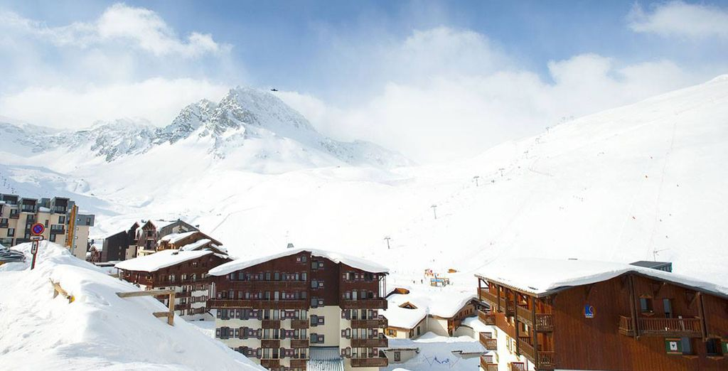 Located amongst the lofty Alps in Tignes, France