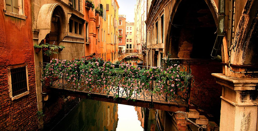 Sail through the ancient waterways of the city