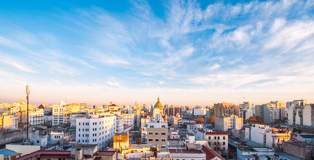 You will take a city tour of energetic capital Buenos Aires