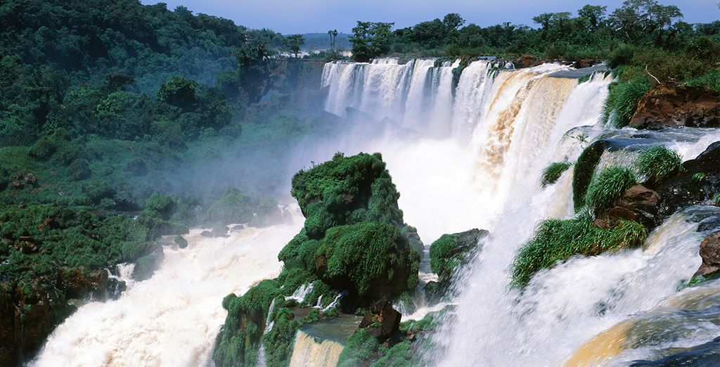 Iguazu Falls are equally breathtaking...
