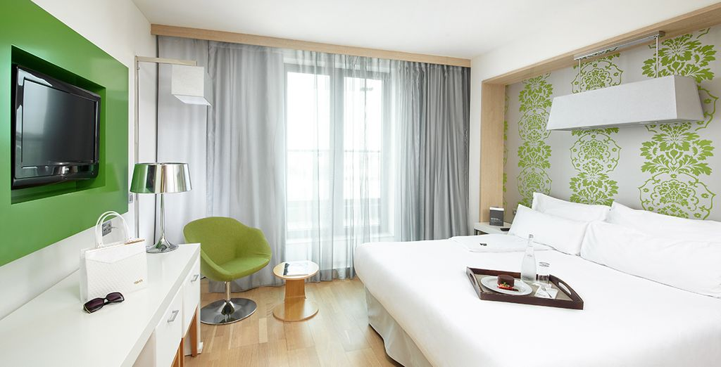 Our members will stay in an Executive Room