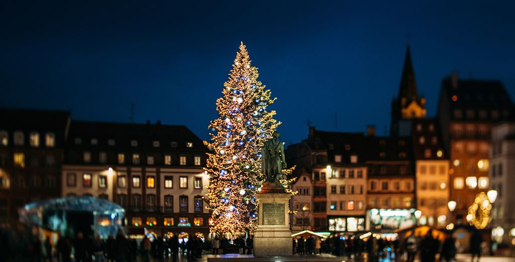 Christmas in Strasbourg is not complete without seeing the magnificently decorated Christmas Tree