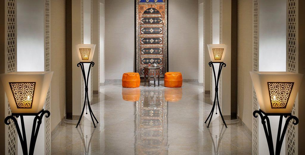 Beginning at the fantastic JW Marriott Marquis Dubai 5*