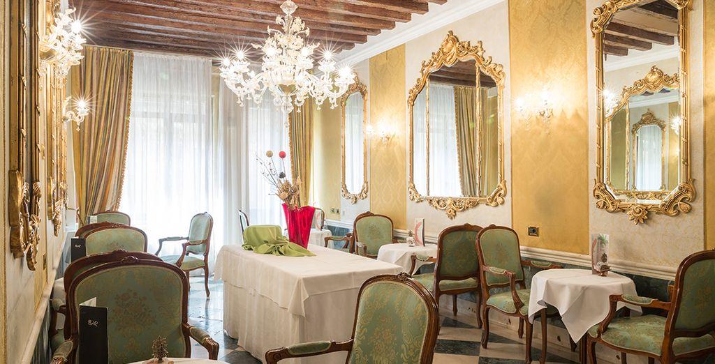This glorious palazzo boasts stunning interiors