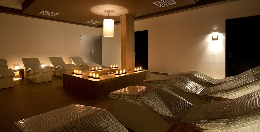 And relaxing treatments