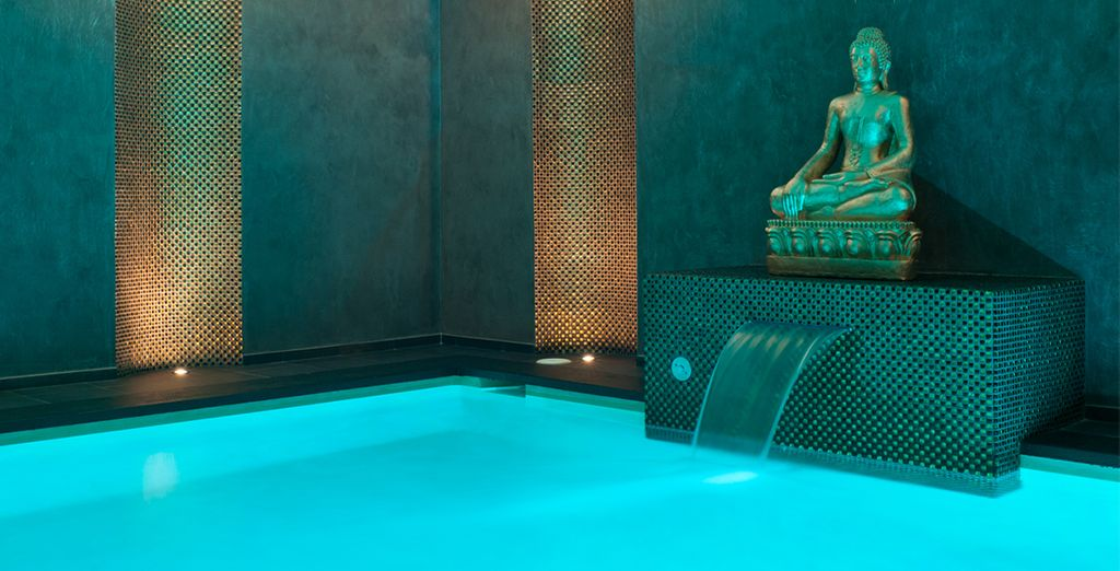 Or take a dip in the indoor pool...
