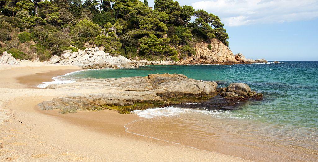 Explore the beaches of the Costa Brava....