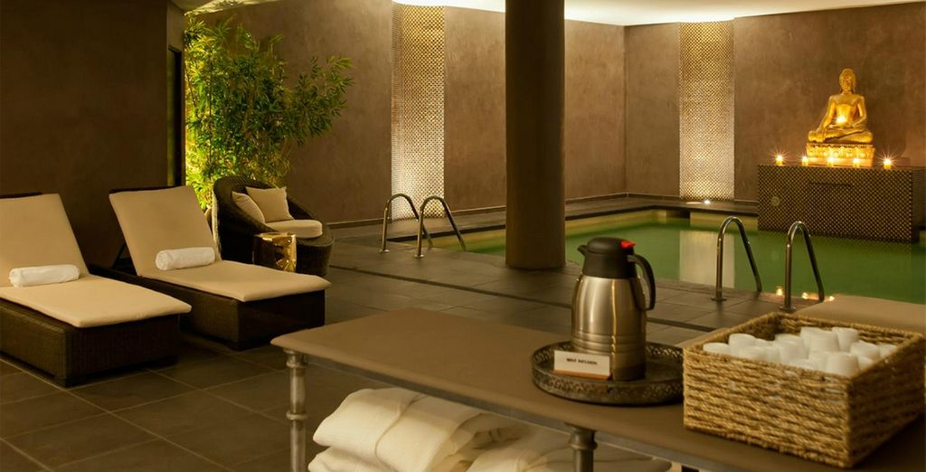 And a gorgeous spa