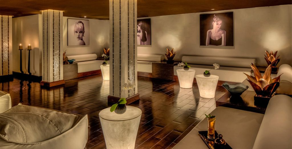 Or head to the beautiful spa