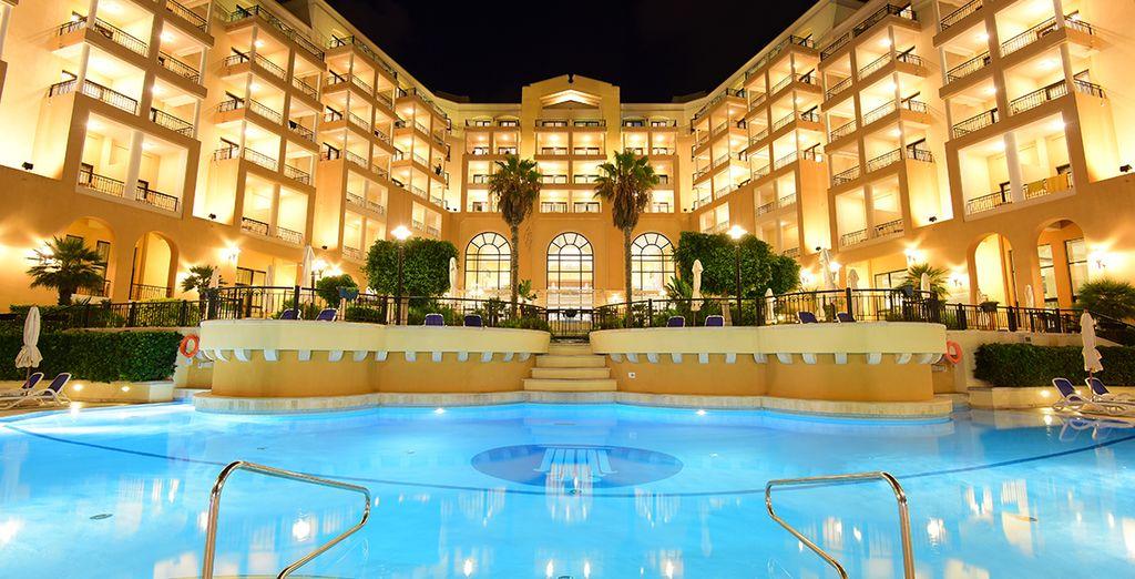 Welcome to Corinthia Hotel St George's Bay 5*
