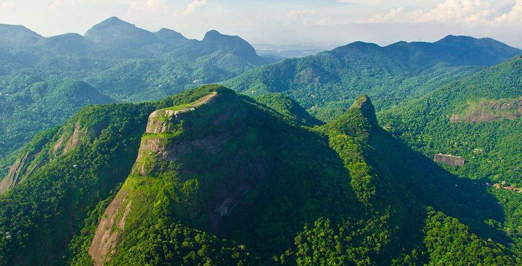 And the lush forests of Tijuca National Park