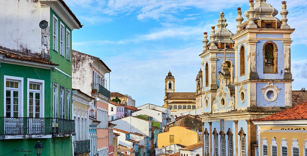 Soak up the culture of Salvador