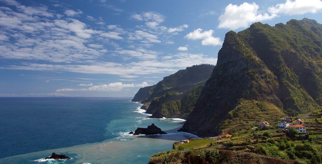 Discover the dramatic coastlines of Madeira island