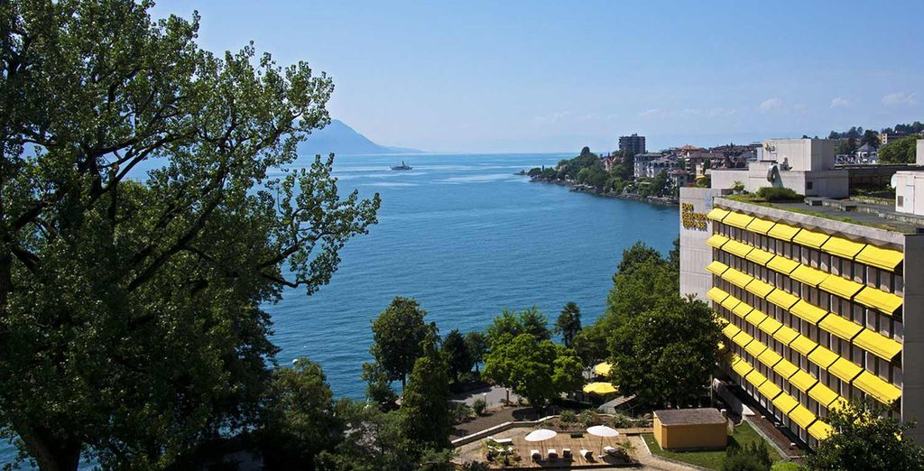 Welcome the 5* Royal Plaza Montreux & Spa