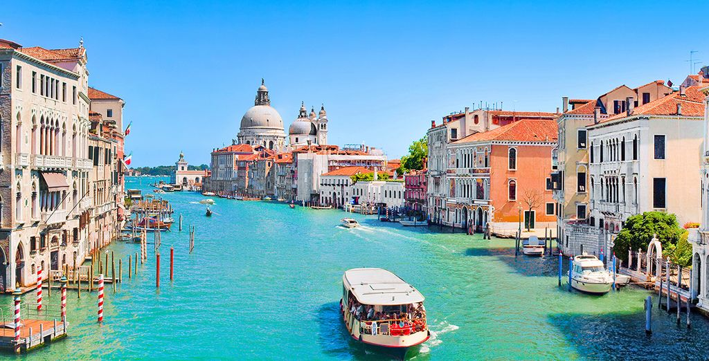 Venice is a city that you can't help marvelling at