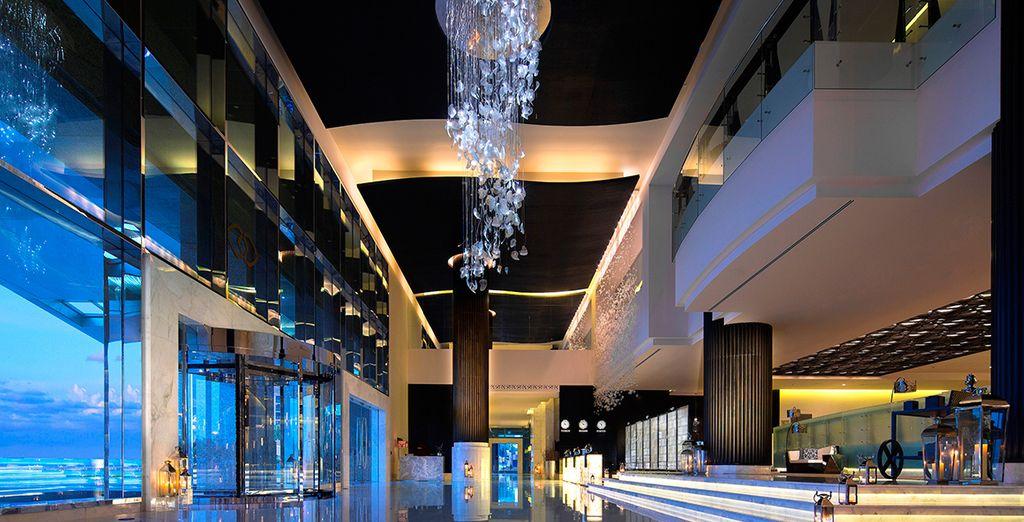 A sleek modern property facing the Arabian Gulf