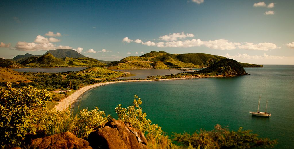 Explore this amazing island and neighbouring St Kitts