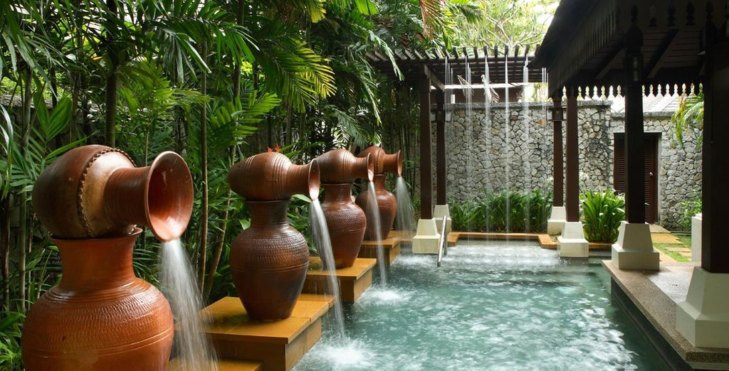 Unwind in the bathhouse for a truly sensual experience