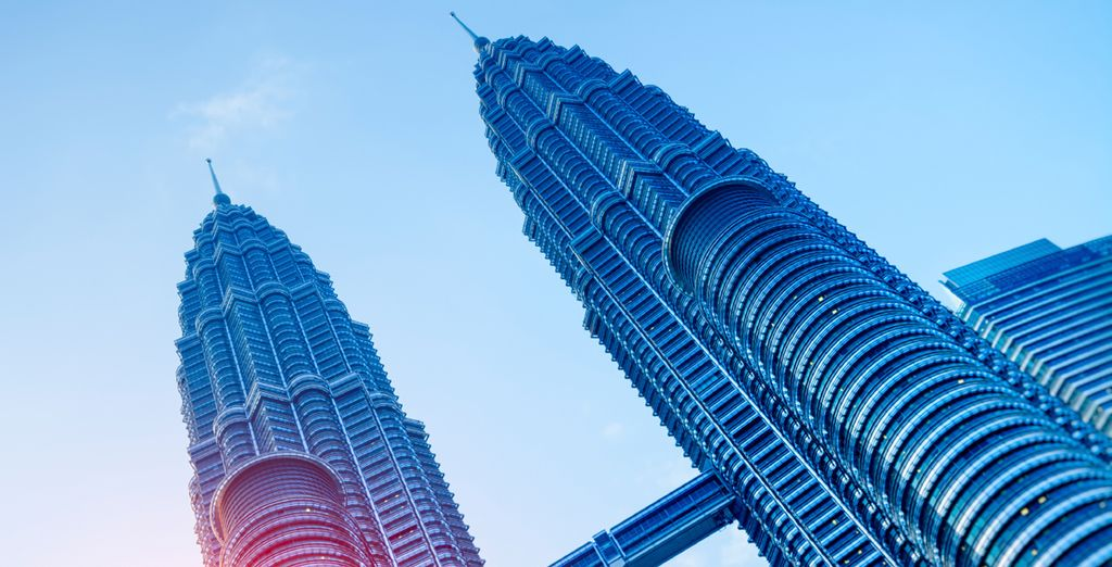 Or throw yourself into it and witness the looming Petronas Towers
