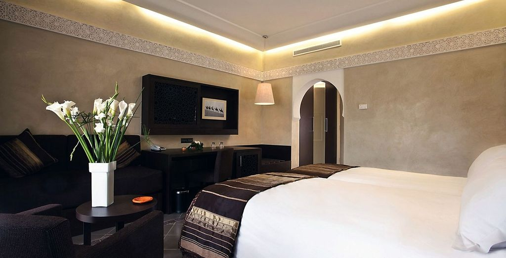 Relax in your Deluxe Room