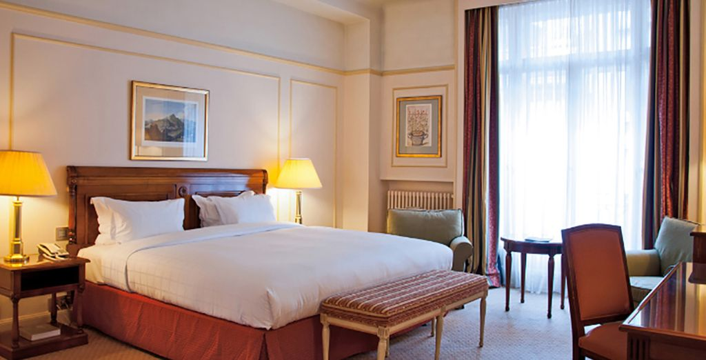 Or choose to upgrade to a Prestige Room
