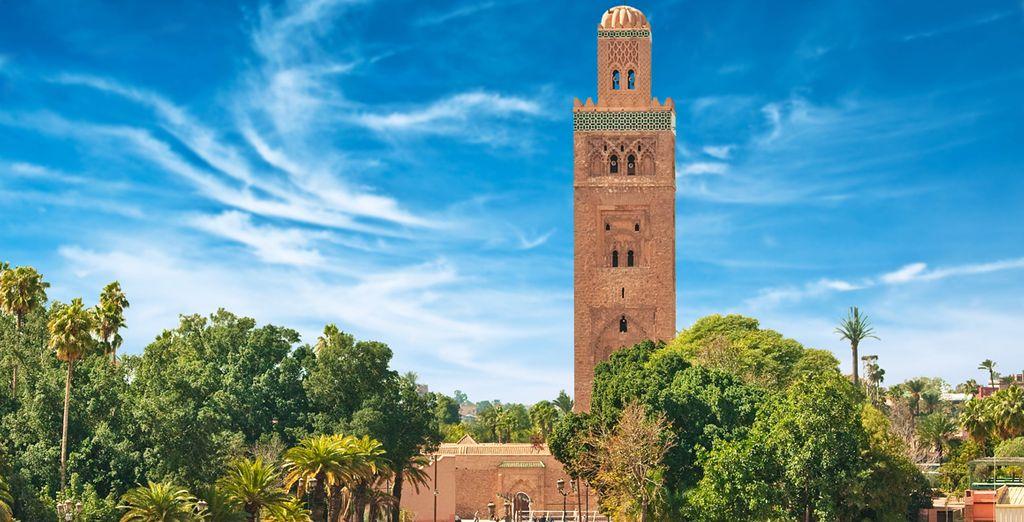 In North Africa's gem - Marrakech