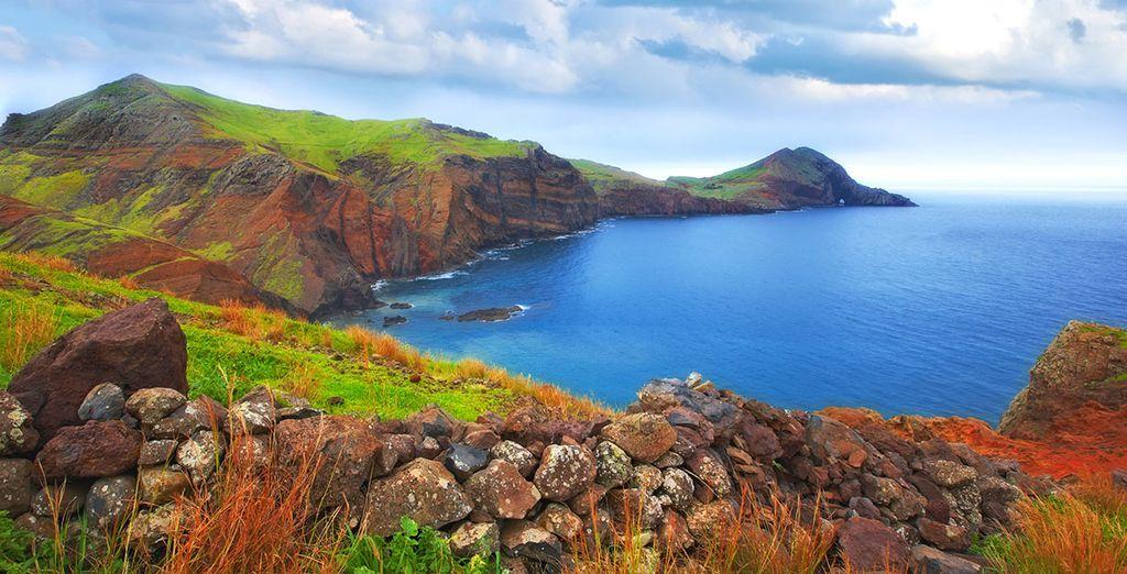On sunny Madeira Island