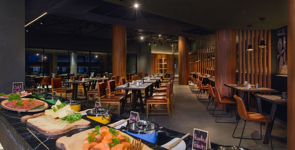 Embark on a culinary voyage with a wide array of Thai and international cuisine