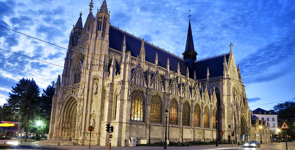 As well as the impressive Notre Dame du Sablon