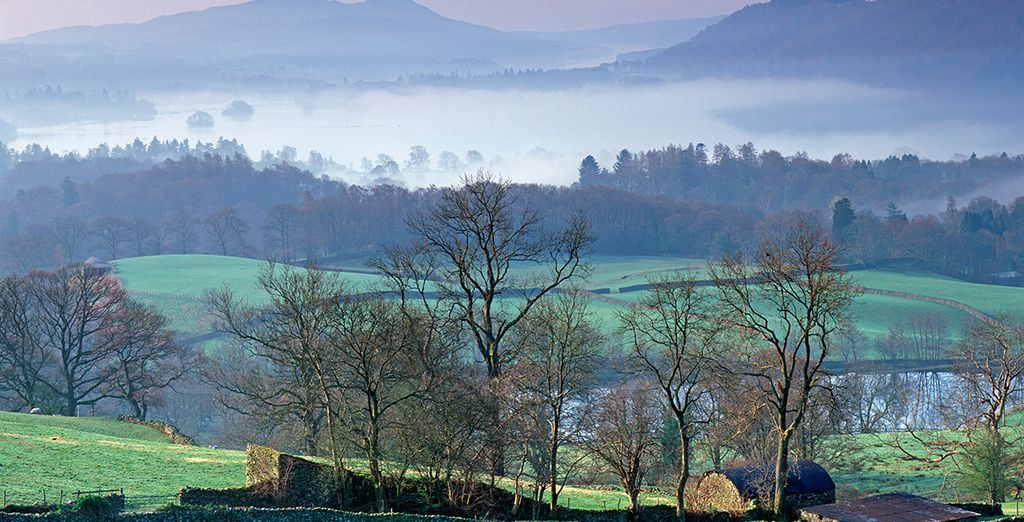 Or head out into the enchanting countryside for a brisk stroll