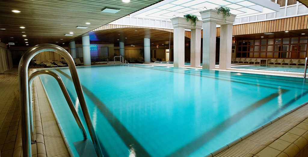 And enjoy free access to the well-renown Aphrodite Thermal Spa