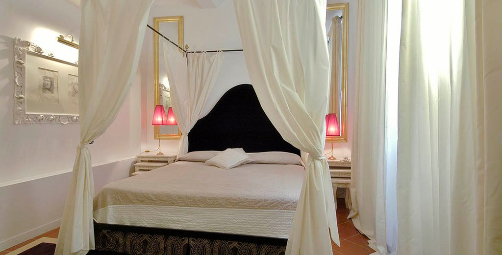 Stay in a chic and elegant Superior Room