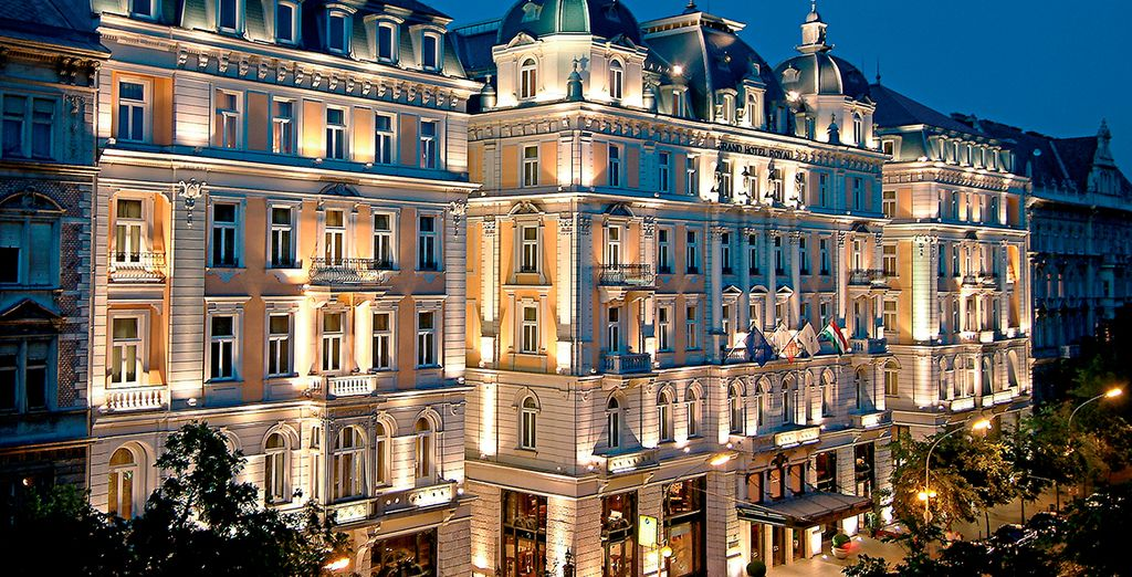 Stay at the Corinthia Budapest