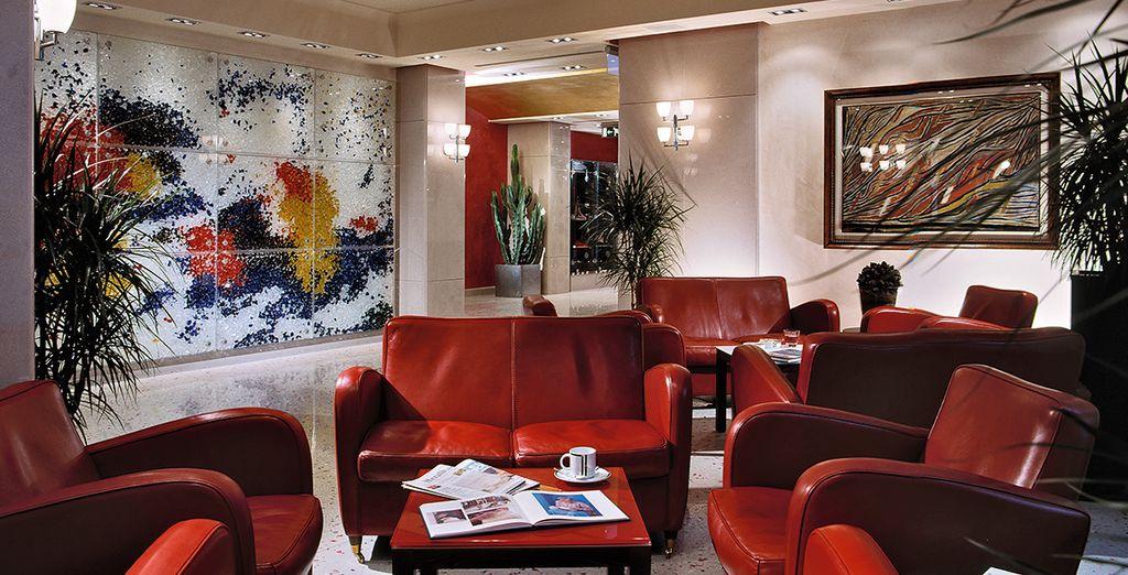 A stylish, contemporary hotel
