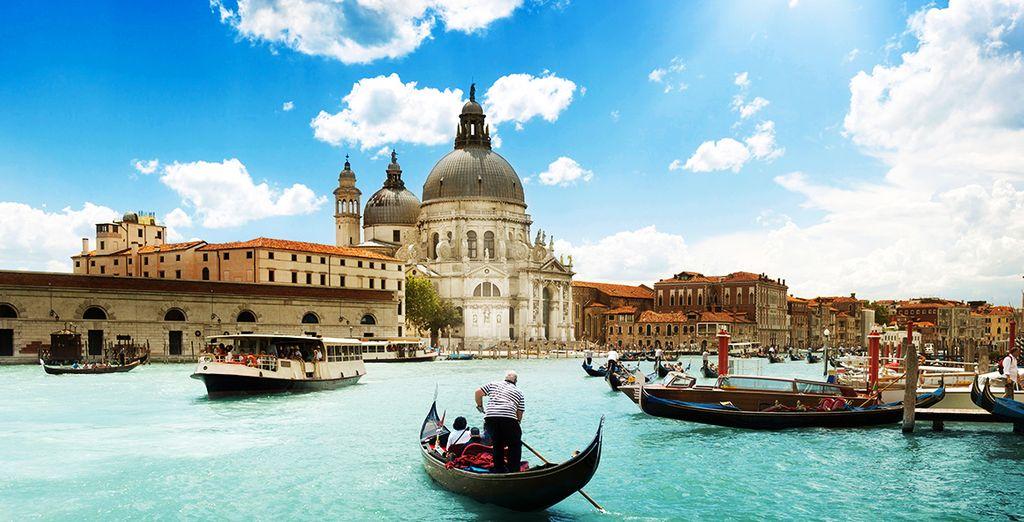 Soak up the romance of Venice