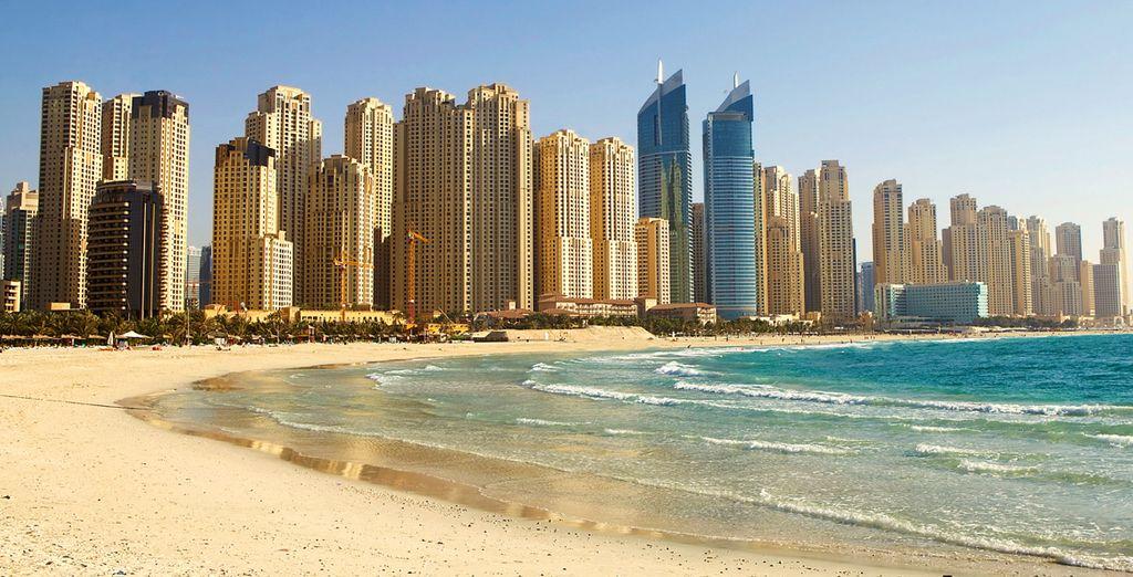Jumeirah beach awaits